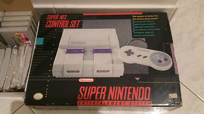 Super Nintendo Entertainment System SNES USA with 35 games