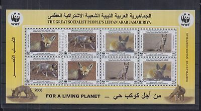 7W Libya - MNH - Nature - Animals - WWF