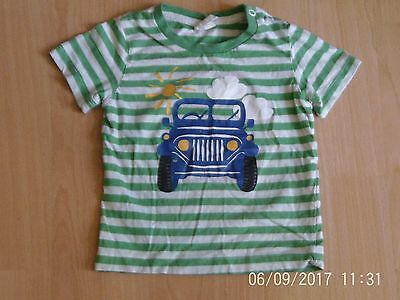 H&M baby boys 6-9 months short sleeved striped t shirt top summer cotton