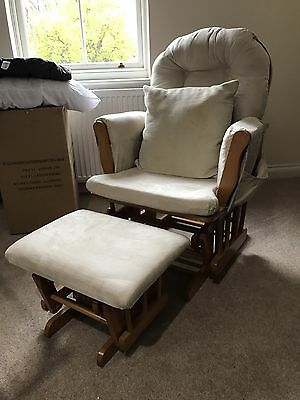 Kiddicare Nursery Rocking Chair And Stool