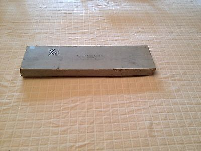 Antique George Pilling Bronchoscope Surgical Tool Instrument 30545 In Box
