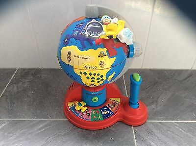 Vtech fly and learn globe with batteries educational fun toddler preschool