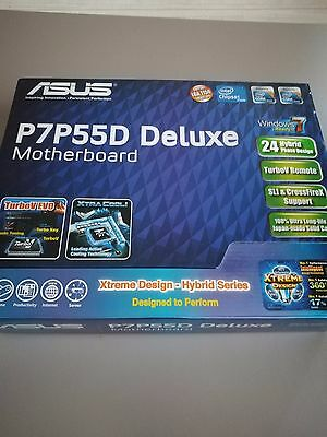 ASUS P7P55D deluxe - INTEL 1156 - MOTHERBOARD (ATX) + BOX