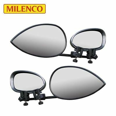 Milenco Aero Convex Glass Towing Mirror Twin Pack PACKAGE DEAL 1847