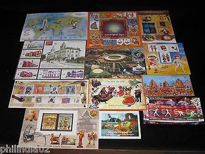 India 2010 Year Pack of 12 M/s Princely States CW Games Astrological Sign MNH