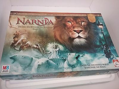 The Chronicles of Narnia board game Milton Bradley 2005 Complete! New In Box