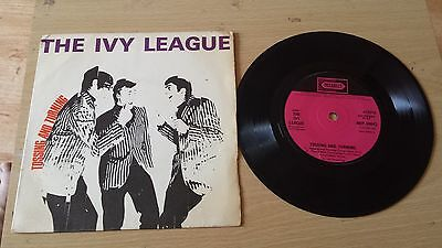 "the ivy league tossing and turning ep 7"" vinyl record"