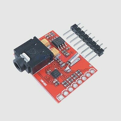 Si4703 RDS FM Radio Tuner Evaluation Breakout Board for Arduino AVR PIC ARM NEW