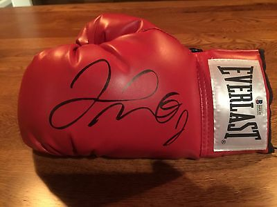 Floyd Mayweather Jr Auto Boxing Glove Beckett Coa, Huge Signature!! Steiner Case