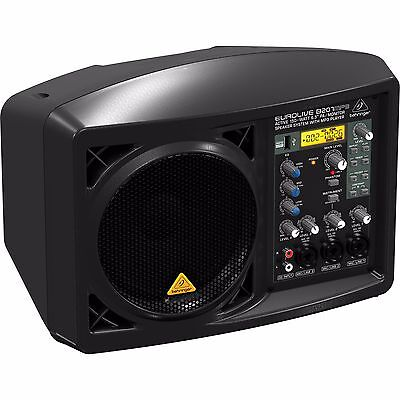 """Behringer EUROLIVE B207MP3 Active 150W 6.5"""" PA / Monitor Speaker System with MP3"""