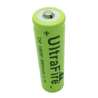 3.7V 18650 8800mAh Li-ion Rechargeable Battery For Flashlight Torch Headlamp RC
