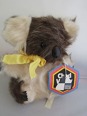 Vintage Chad Valley Chiltern Koala Bear - Excellent Condition with Tags