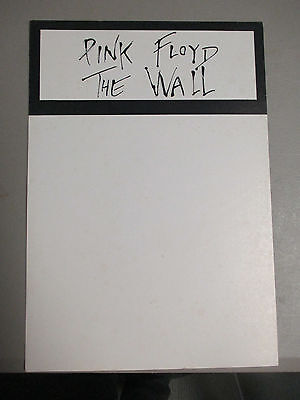 "PINK FLOYD The Wall Album Divider record store promo RARE 17""X12"" 1979 Original"