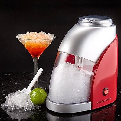 Best Blender Ice Crusher Electric Drinks 300g Ice Per Minute Ice Scoop Red White