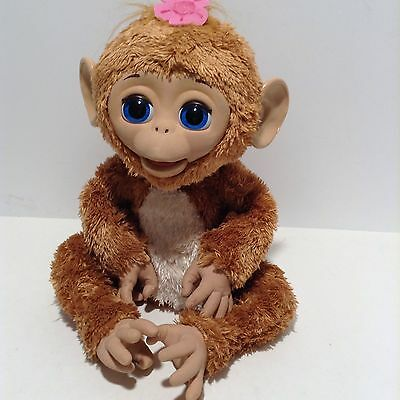 Furreal Friends Cuddles My Giggly Monkey large electronic interactive A1650