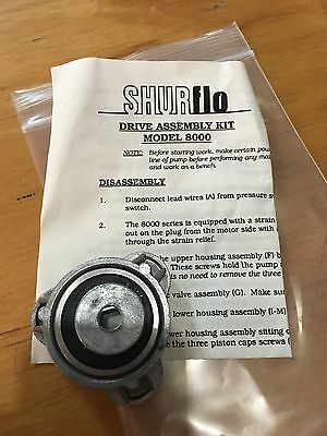 NEW SHURflo pump replacement part Drive Assembly Kit Model 8000 94-385-03