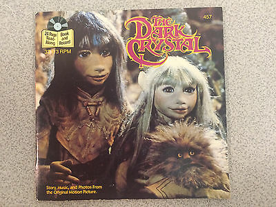 The Dark Crystal: Read Along Book and Record, 33 1/3 RPM