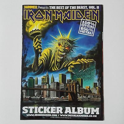 Iron Maiden 'best Of The Beast Vol Ii' Sticker Album (Complete)