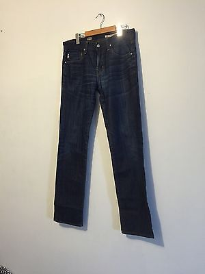 AG Jeans 33 Mens Matchbox Slim Straight Made In USA Great Condition