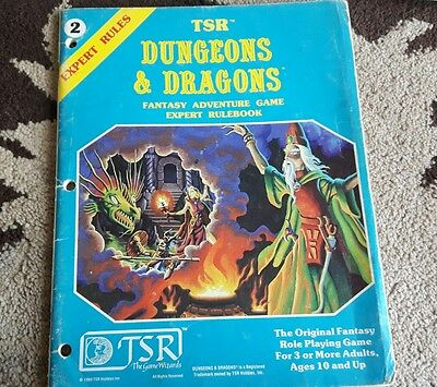 Tsr Dungeons and dragons expert rules 2