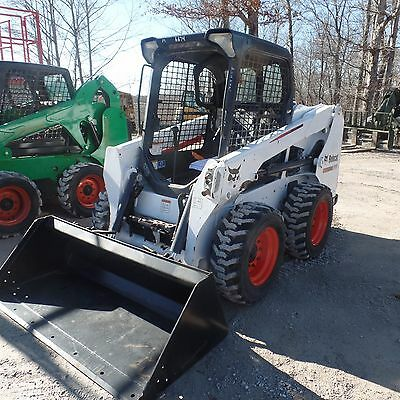 2015 Bobcat S510 skidsteer Nice shape Clean Video! S175 S185