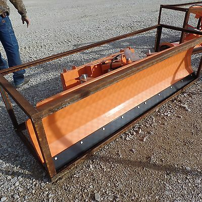 "94"" Dozer SNOW PLOW SKIDSTEER ATTACHMENT FITS MOST POWER ANGLE USA MADE"