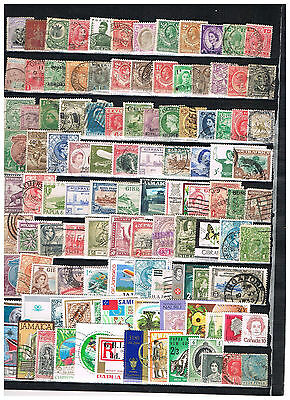 Selection of Commonwealth Stamps