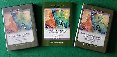 Great Courses Teaching Company Biological Anthropology DVDs and Book