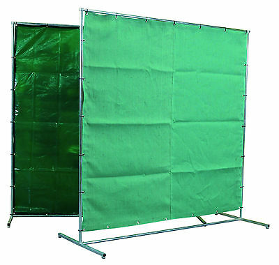 Welding Curtains/Frames & Welding Frames c/w Curtains (Various Types/Sizes)