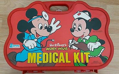 Mickey Mouse Disney medical kit 1978
