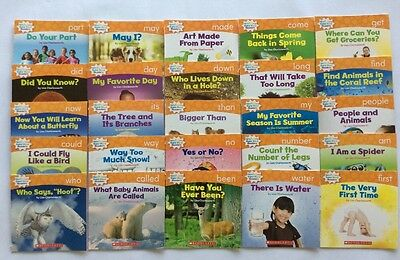 Lot 25 Children's Level D Kindergarten First Grade Learn to Read Books NEW