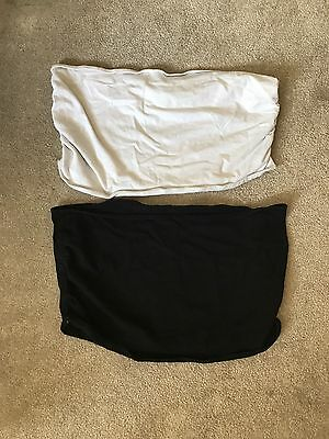 Blooming Marvellous Bump Bands Black And White Size Large