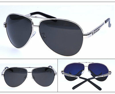 New 2017 Mercedes Benz polarised sunglasses men woman AMG brand silvery