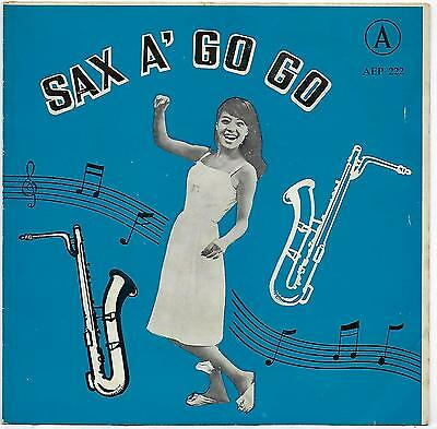 "James Last Band - Sax A' Go Go - EP - Little Man - One Off - Rare -  7"" Single"