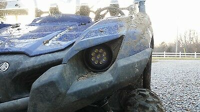 Headlights For Yamaha Grizzly 700, Wolverine, And Viking