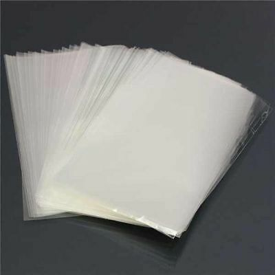 """1000 8"""" x 10"""" CLEAR POLYTHENE PLASTIC FOOD BAGS 80g PACKING SUPPLIES"""