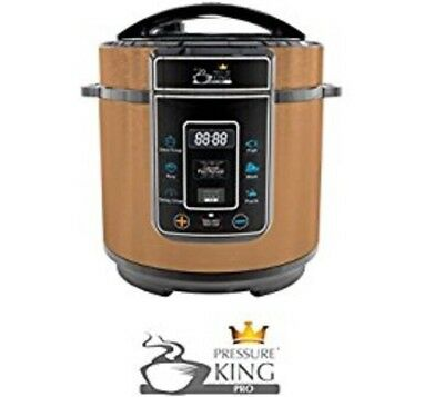 King Pro 3L Litre Electric Digital Pressure Cooker Copper 8 in 1 Stainless Steel