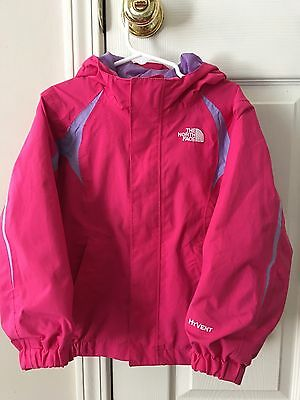 Toddler Girls North Face Hyvent Jacket Size 4T/4B