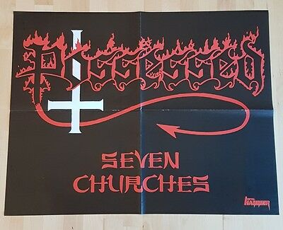 Poster NIGHTWISH  POSSESSED Seven Churches
