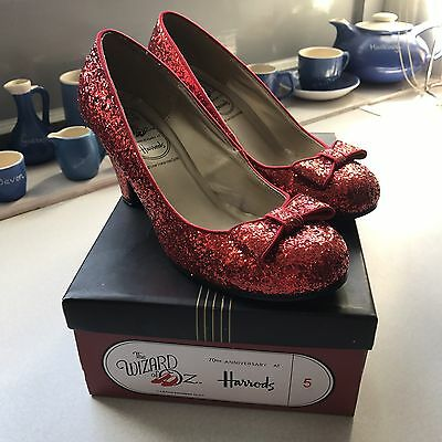 Harrods Ruby Slippers Limited Addition Size 5