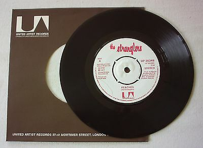 "The Stranglers - Peaches - Rarer April Music Credit Label - A1/b1 - 7"" Vinyl"
