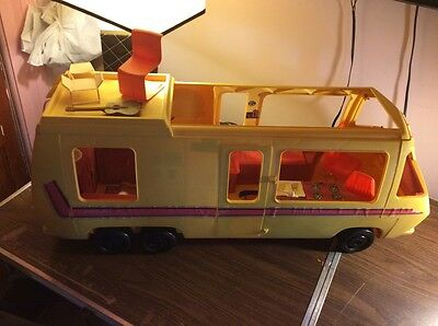 Vintage 1976 Barbie Star Traveler GMC RV Van Camper