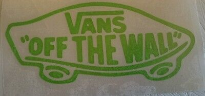 VANS of the wall snowboard skateboard surfing car campervan sticker decal 100mm