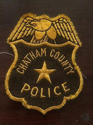 Chatham CO POLICE-  GA Police Patch
