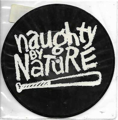 "Naughty By Nature - O.P.P. Remixes 7"" picture disc Big Life BLR 74"