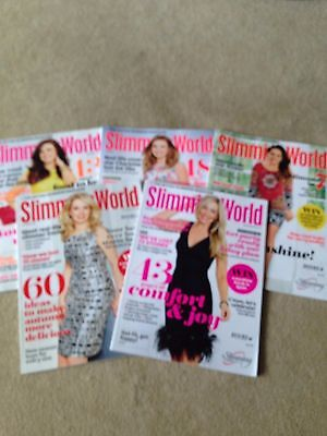 SLIMMING WORLD MAGAZINES - PART YEAR 2015 have been read but in great condition