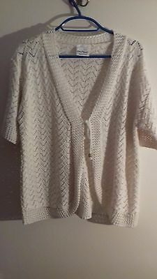 Pulse new ladies knitted jacket size XXL