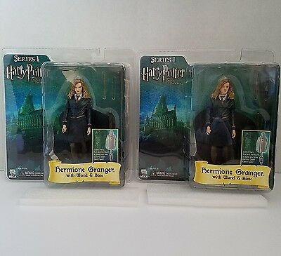 Neca Harry Potter Series 1 Hermione Granger with Wand and Base