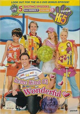 Hi-5 Some Kind Of Wonderful (Searies 7 Volume 8) DVD _ PAL Region 0