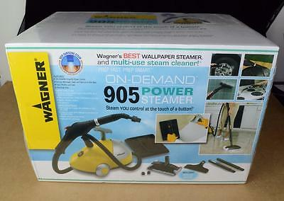 Wagner On-Demand 905 Power Steamer New in box!